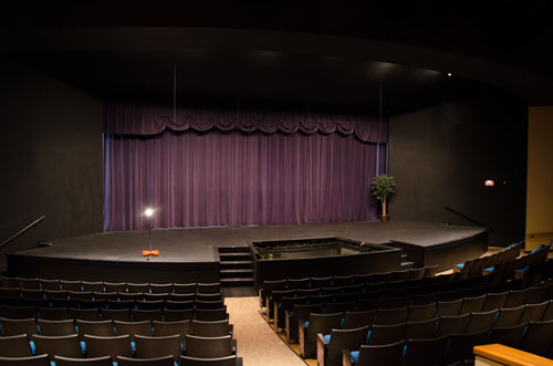 Freeport LNG Theater Proscenium Stage