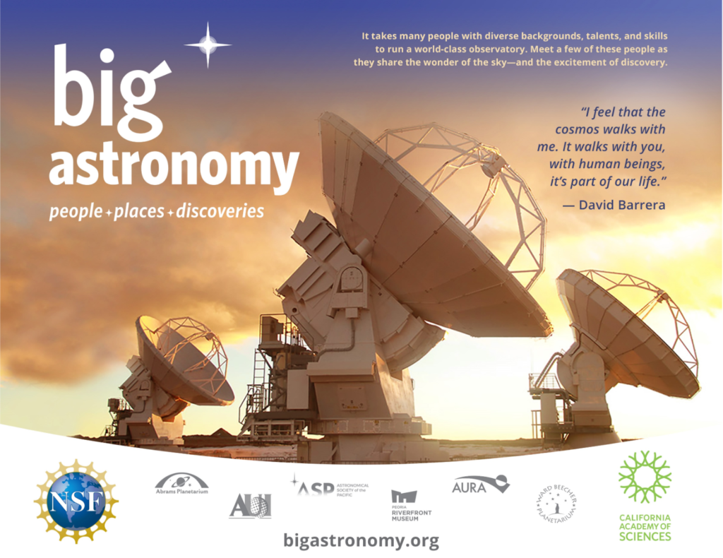 Big Astronomy – Tuesdays in English