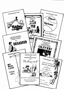 Little Theater Show Programs