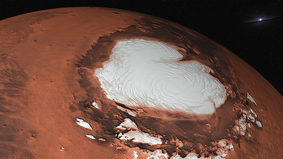 Planetarium Show – Water on Mars