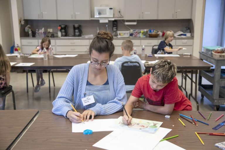Brazosport Art League's Summer Camps Featured in The Facts