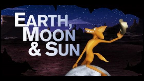 Earth Moon Sun